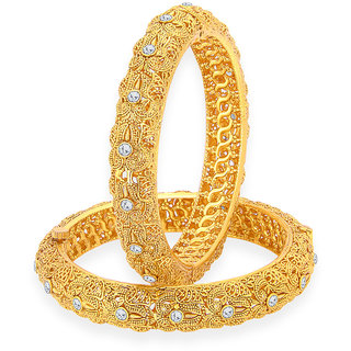 Sukkhi Modern Gold Plated Bangle For Women