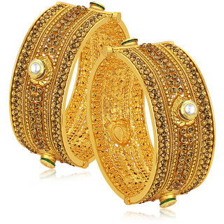 Sukkhi Exquisite Gold Plated Bangle For Women
