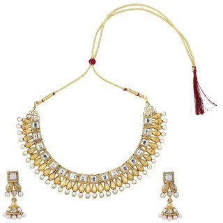 Bridal pearl South Indian traditional pearl long jewellery necklace set