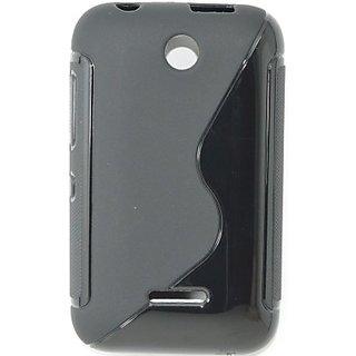 pretty nice cc542 65d56 Totta Back Cover for Nokia Asha 230 (Black)