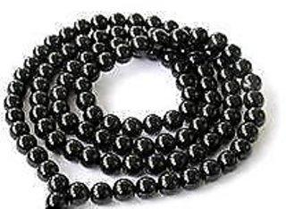 only4you Black Hakik (agate) Mala, Agate Mala