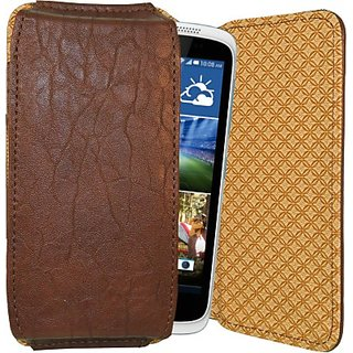 Totta Pouch for HTC Desire 826 (Brown)