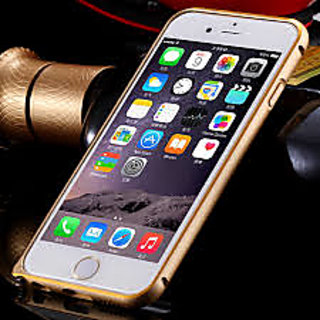 Apple iPhone 6 Bumper Luxury Slim Aluminium Metal Frame GOLD
