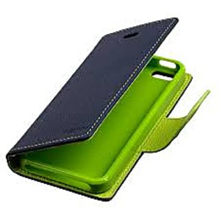 Fancy Diary Flip Wallet Case Cover FOR ASUS ZENFONE 2 (Blue)