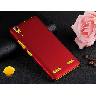 For lenovo A6000 Ruberrised case back cover With tempered glass