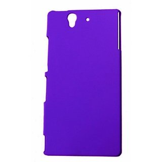 TomWay Mobile Back Cover For Sony Xperia Z ( Purple )