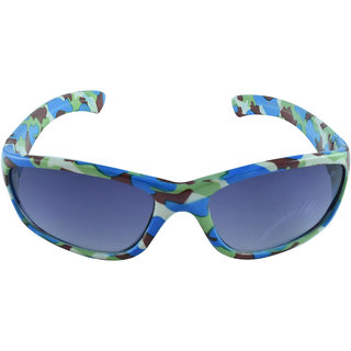 Polo House USA Kids Sunglasses ,Color-Green - Blue-FantB1001greenblue