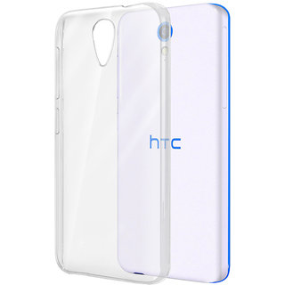 HTC Desire 620 Transparent back Cover - Back Cover for HTC 620 - Soft gel