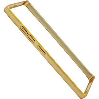 Golden Metal Bumper For Lenovo A6000