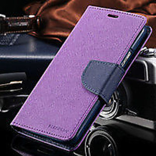 SAMSUNG GALAXY J7 FLIP COVER MERCURY PURPPLE