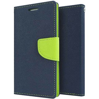 redmi 2s blue with green flip mercury covers