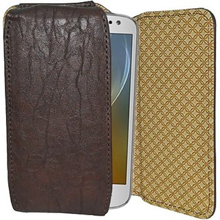 Totta Holster for Karbonn Titanium S5i (Brown)