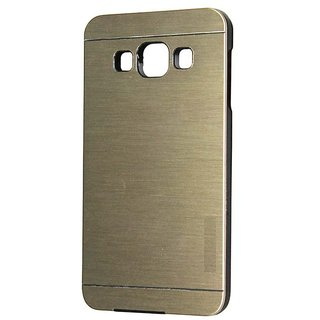 Dclair Premium Motomo Back Case Cover For Samsung Galaxy A7 Golden