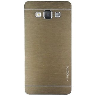 Motomo Back Case Cover for Samsung Galaxy j5 Gold