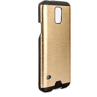 MOTOMO Back Case Cover For Samsung Galaxy S5 (Golden)