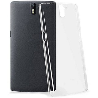 Snaptic Transparent Soft Back Cover For Lenovo A2010