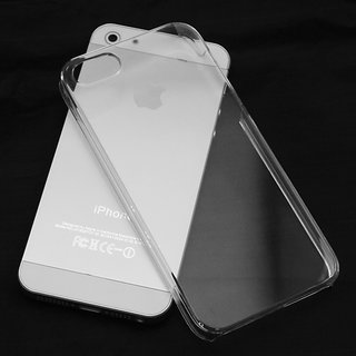 Apple iPhone 5 / 5s 0.3mm Ultra Thin Crystal Clear Hard Transparent Back Cover