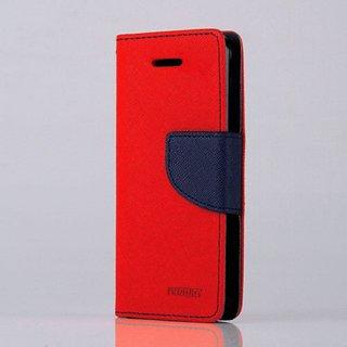 Mercury Fancy Diary Flip Wallet Case Cover For Samsung J7+ Free Screen Guard