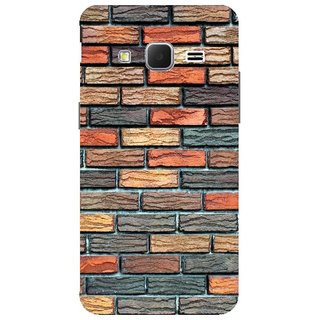 Samsung Galaxy J7  Design Back Cover Case (Bricks Texture Background Wall )