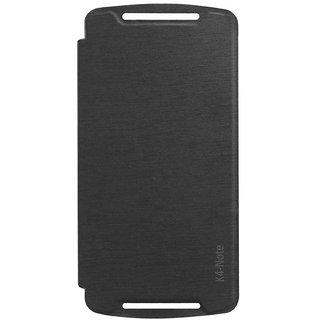 TBZ Flip Cover Case for Lenovo K4 Note -Black