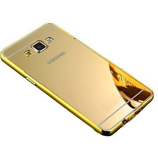 buy online 73c85 732ea Back Cover for Samsung galaxy j2(gold)