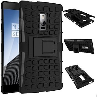 Shock Proof Case for ONEPLUS TWO (BLACK)
