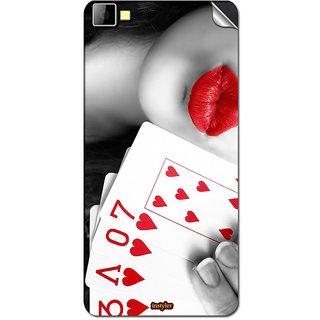 Instyler Mobile Skin Sticker for XOLO BLACK 1X