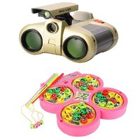 Fishing Catching Game With Night Scope Binoculars With Pop-Up Light