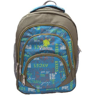 Visam School, College or Outdoor Purposes Bag with laptop Compatibility Backpack