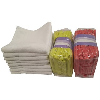 welhouse Offer on His and Her 20 Face Towels  12 x 12(MTCOFT-01)