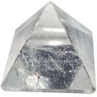 Satyamani Natural Clear Quartz Pyramid - 70 Mm