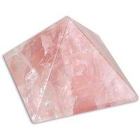 LakshmiPriya Crystal Shop Rose Quartz Pyramid 20mm