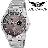 Lois Caron LCS-4047 CHRONOGRAPH PATTERN ANALOG WATCH Analog Watch - For Boys, Men