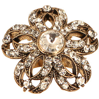 Designer Flower Shaped Cocktail Ring(SF3066)