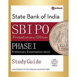 SBI PO Phase-1, Preliminary Examination Study Guide 2016