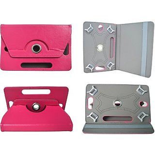 Totta Book Cover For Videocon Mobiles Vt75C (Pink)