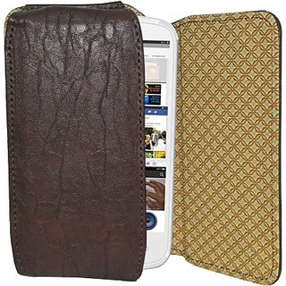 Totta Holster For Celkon Campus A21 (Brown)