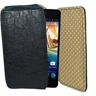 Totta Holster For Micromax Canvas Win W092 (Black)
