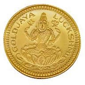 Chahat Jewellers 1grams 916 Gold Lakshmi Coin