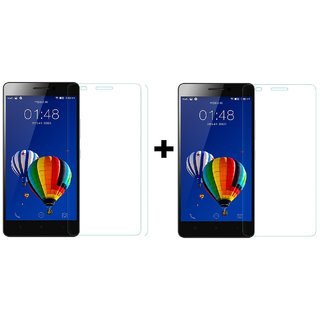 Tempered Glass Screenguard For Vivo y28 (Pack of 2)