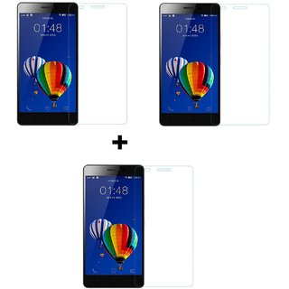 Tempered Glass Screenguard For Micromax Canvas Pace 4G Q416 (Pack of 3)