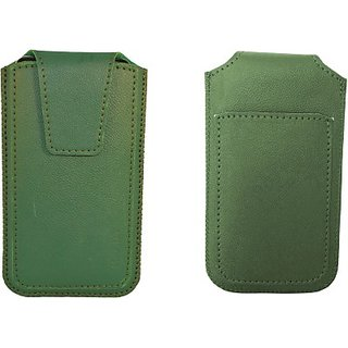 Totta Pouch For Gionee F 103 (Green)