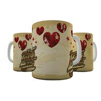 Shaildha 350 ML White Coffee Mug For This Love Season (V43)