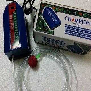 CHAMPION Aquarium Air pump / Motor 1way + 1 mtr air tupe + 1 Air Stone