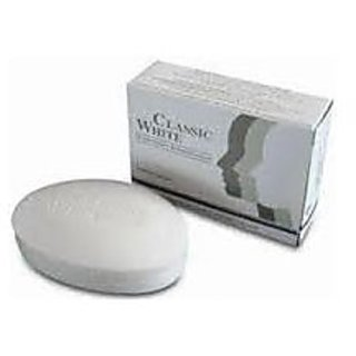 CLASSIC WHITE SKIN WHITENING SOAP (PACK OF 3 Pcs).