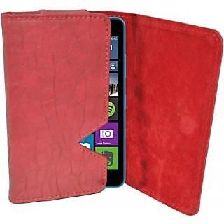 Totta Pouch For Microsoft Lumia 638 (Red)