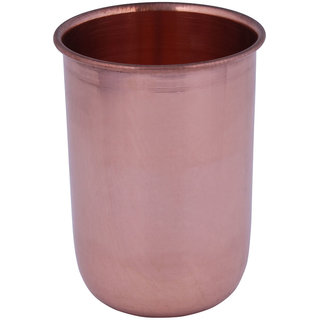 Craft Art India  Copper Utensils Drinking Glass / Tumbler Cup, Ayurvedic Treatment Healing CAI-HD-0081