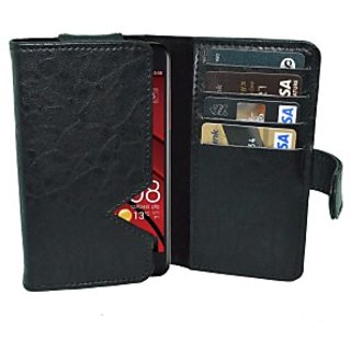 Totta Wallet Case Cover For Htc Desire 826 (Black)