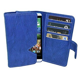 Totta Wallet Case Cover For Htc Desire 616 (Blue)