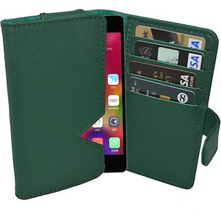 Totta Wallet Case Cover For Gionee Elife S5.5 (Green)